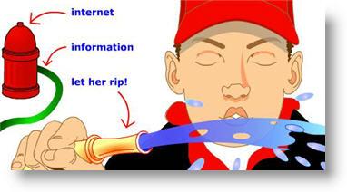 information fire hose